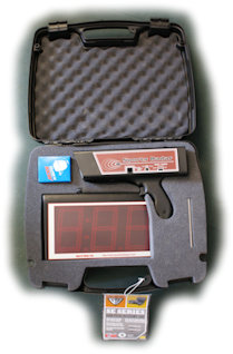 SR3600 Hand Held Radar Gun kit